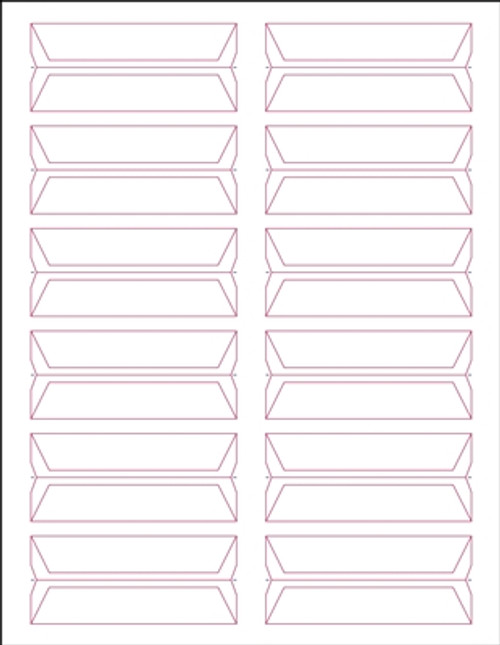 Acme Abgor File Folder Labels - (Sheets) - White - 240 Labels per pack
