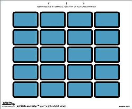 Exhibits-U-Create Blue 240/Pkg