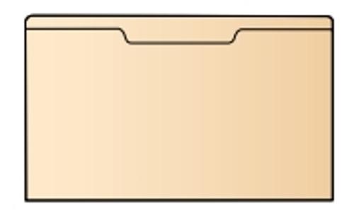 """Manila Pocket - 9-1/8"""" W x 4-5/8"""" - 200/Box"""