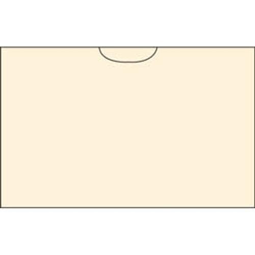 Manila Pocket - 11 pt - 5'' x 8-3/4'' - 100/Box