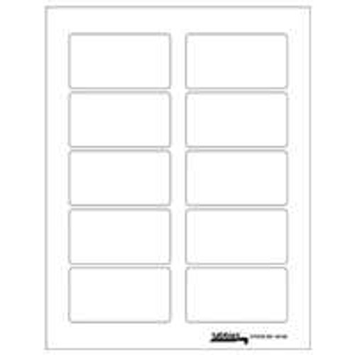 "Labels-U-Create Laser 1-3/4""x3-1/4"", White"