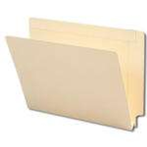 "Smead End Tab File Folder, Reinforced Straight-Cut Tab, 1-1/2"" Accordion Expansion, Letter Size, Manila, 50 per Box (24275)"