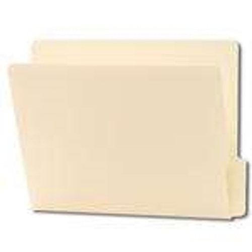 Smead End Tab File Folder, Shelf-Master Reinforced 1/3-Cut Tab Bottom Position, Letter Size, Manila, 100 per Box (24137)