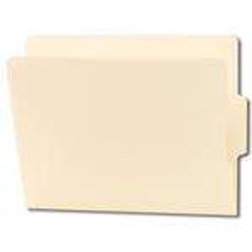 Smead End Tab File Folder, Shelf-Master Reinforced 1/3-Cut Tab Center Position, Letter Size, Manila, 100 per Box (24136)