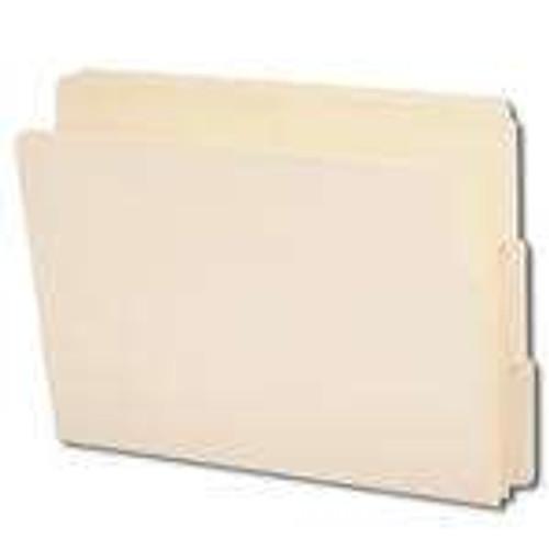 Smead End Tab File Folder, 1/3-Cut Tab, Letter Size, Manila, 100 per Box (24130)