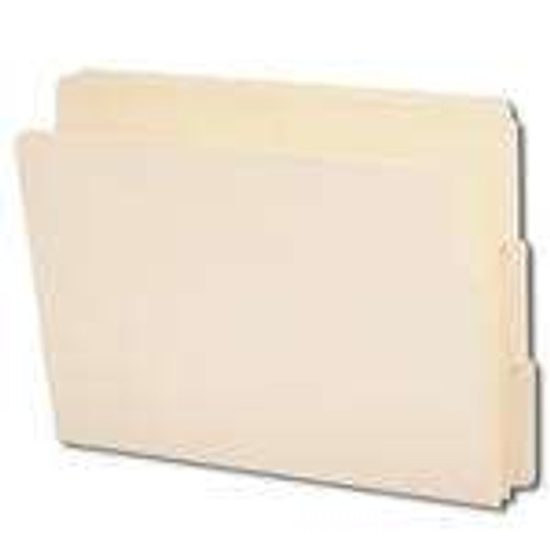 Smead End Tab File Folder, 1/3-Cut Tab, Letter Size, Manila, 100 per Box (24130)