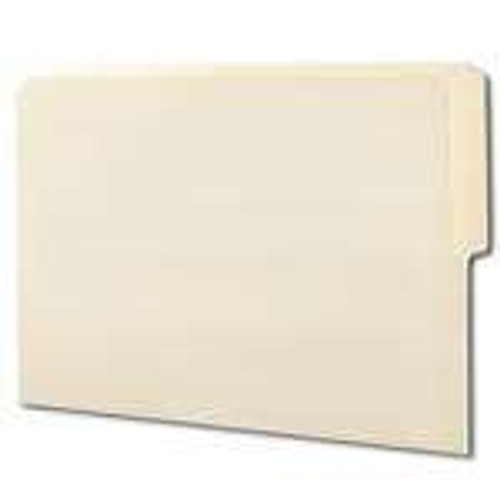 Smead End Tab File Folder, Shelf-Master Reinforced 1/2-Cut Tab Top Position, Letter Size, Manila, 100 per Box (24127)
