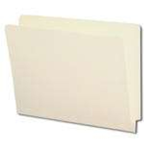 Smead End Tab File Folder, Shelf-Master Reinforced Straight-Cut Tab, Letter Size, Manila, Carton of 500