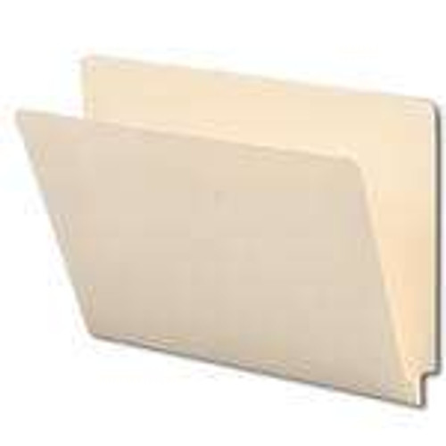 Smead End Tab File Folder, Straight-Cut Tab, Letter Size, Manila, 100 per Box (24100) - 5 Boxes