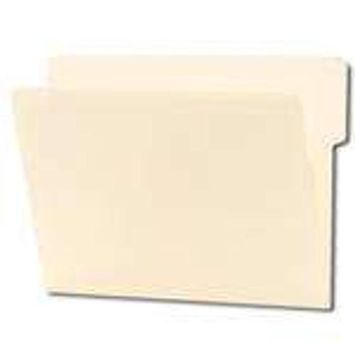 Smead End Tab File Folder, Shelf-Master Reinforced 1/3-Cut Tab Top Position, Letter Size, Manila, 100 per Box (24135)