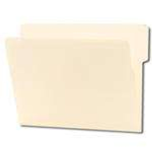 Smead End Tab File Folder, Shelf-Master Reinforced 1/3-Cut Tab Top Position, Letter Size, Manila, 100 per Box (24135)