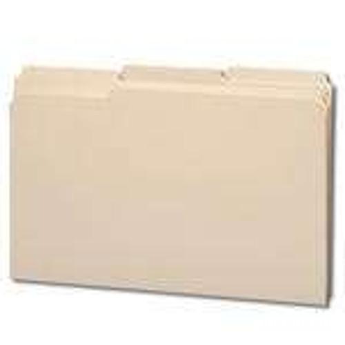 Smead File Folder, Reinforced 1/3-Cut Tab, Legal Size, Manila, 100 Per Box (15434)