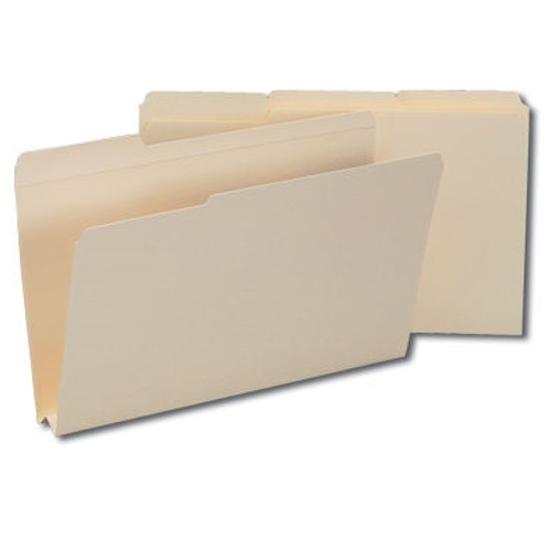 "Smead File Folders, Reinforced 1/3-Cut Tab, 1-1/2"" Accordion Expansion, Legal Size, Manila, 50 Per Box (15405)"