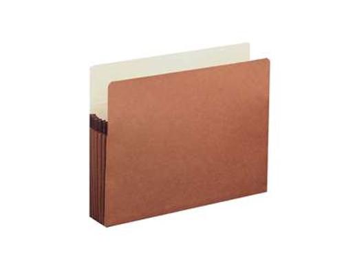 "Expanding File Pocket - 5 1/4"" Accordion Expansion, Paper Gusset, Legal Size - 50/Carton"