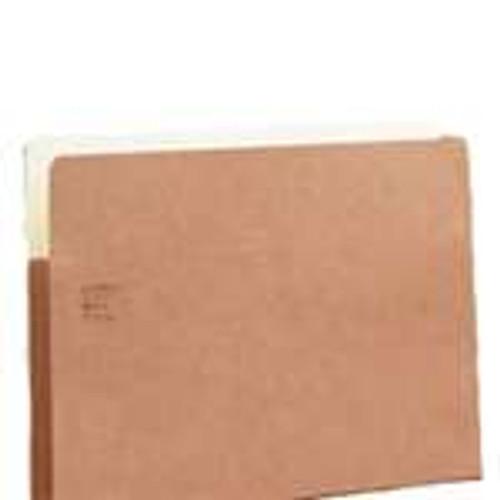 "Redweld Expanding File folder, 5 1/4"" Accordion Expansion, Paper Gusset, Legal Size - Carton of 50"