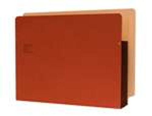 "Redweld Shelf folder, Full Right Side Tab - Notch, 5 1/4"" Accordion Expansion, Tyvek Gusset, Letter Size - Carton of 50"
