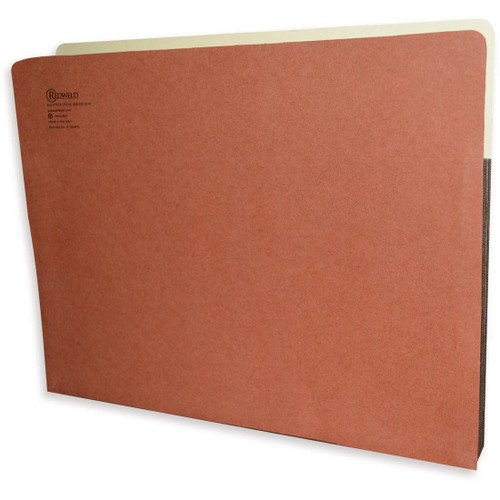 "Redweld Expandable File Pockets with  5 1/4"" Accordion Expansion, Tyvek Gusset, Letter Size 9-1/2"" H x 11-3/4"" W - Carton of 50"