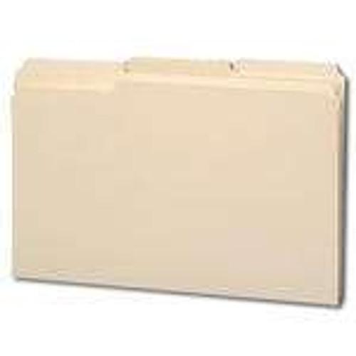 Smead File Folder, Reinforced 1/3-Cut Tab, Legal Size, Manila, 100 Per Box (15334) - 5 Boxes