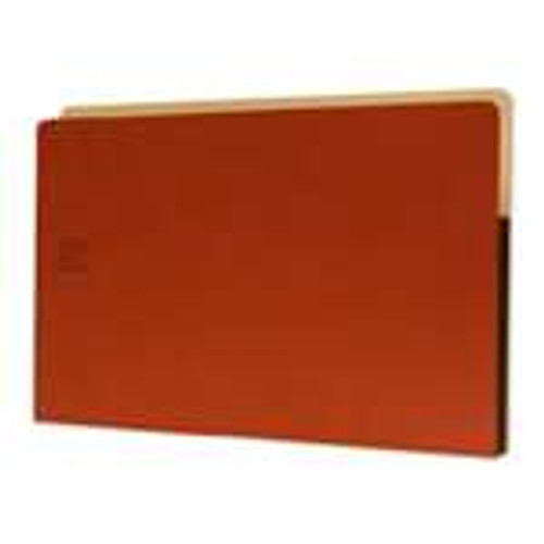 "Redweld Expanding File folder, 3 1/2"" Accordion Expansion, Tyvek Gusset, Legal Size - Carton of 50"