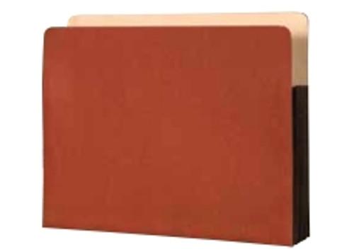 Premium Paper Gussets - Letter Size Accordion Expansion folder 9 1/2 x 11 3/4 x 3 1/2. Box of 50