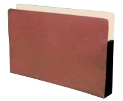 Standard Paper Gussets - Legal Size Accordion Expansion folder 9-1/2 x 14-3/4 x 1-3/4, Box of 50
