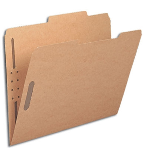 Smead Fastener File Folder, 2 Fasteners, 2/5-Cut Tab Right of Center Position, Letter Size, Kraft, 50 per Box (14882)