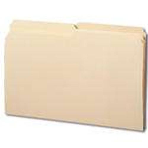 Smead File Folder, Reinforced 1/2-Cut Tab, Legal Size, Manila, 100 Per Box (15326) - 5 Boxes