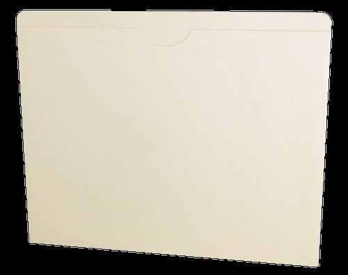 Acme File Jackets - 11 Pt. Manila - Letter Size - Flat/No Expansion - 50/Box