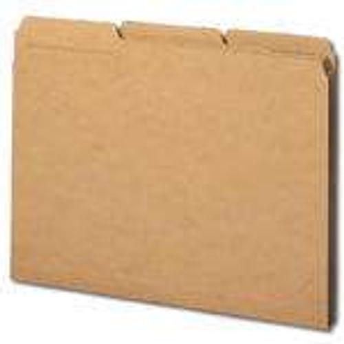 Smead File Folder, 1/3-Cut Tab, Letter Size, Kraft, 50 per Box (10830)