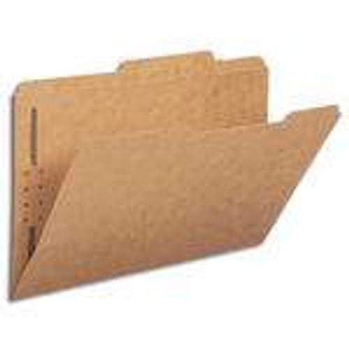 Smead Fastener File Folders, 1 Fastener, Reinforced 1/3-Cut Tab, Legal Size, Kraft, 50 Per Box (19834) - 5 Boxes
