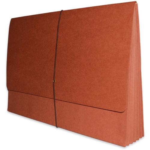 """Redweld Expanding Envelope, 1B Elastic Closure, 5 1/4"""" Expansion, Paper Gusset, Legal Size - 50/Carton"""