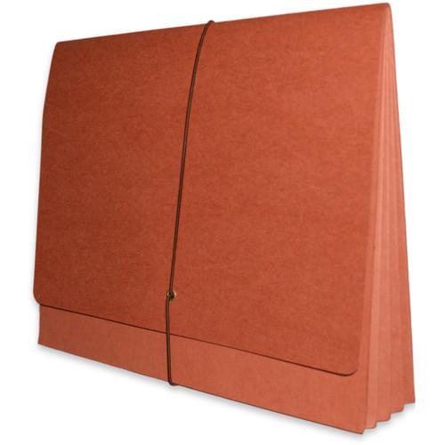 "Redweld Expanding Envelope, 1B Elastic Closure, 3 1/2"" Expansion, Paper Gusset, Letter Size - Carton of 50"
