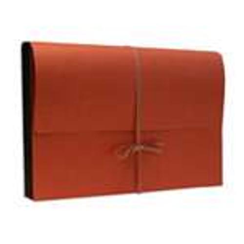 """Redweld Expanding Envelope, Cloth Tie Closure, 3 1/2"""" Expansion, Paper Gusset, Legal Size, 50/Carton"""
