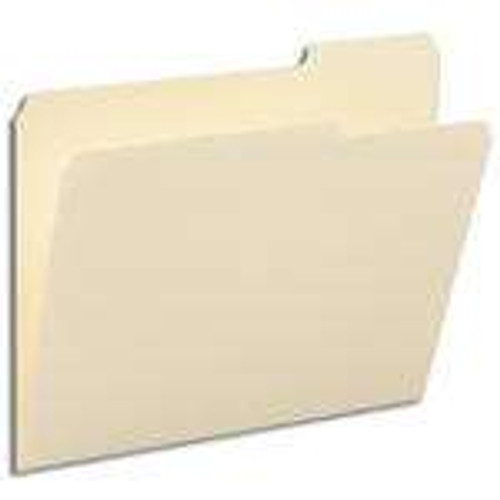 Smead File Folder, Letter, 1/3-Cut Tab Right Position, Letter Size, Manila, 100 Per Box (10333) - 5 Boxes