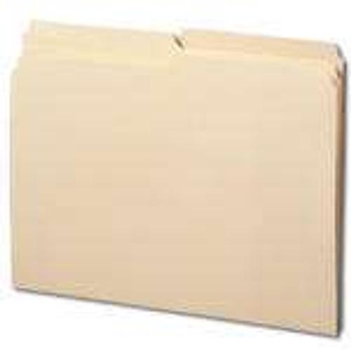 Smead File Folders, Reinforced 1/2-Cut Tab, Letter Size, Manila, 100 Per Box (10326) - 5 Boxes