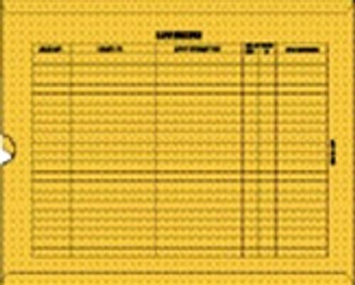 Medical Folder Heavy Duty Negative Preservers- Open End.  32 lb. Brown Kraft Stock, 250 Negative Preservers per Carton, Size 14 1/2 X 17 1/2