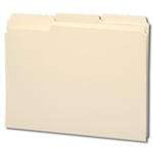 Smead File Folder, Reinforced 1/3-Cut Tab, Letter Size, Manila, 100 Per Box (10334) - 5 Boxes