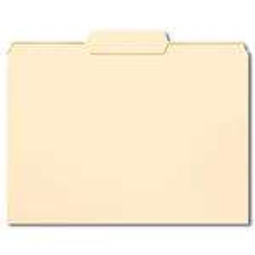 Smead File Folder,1/3-Cut Tab Center Position, Letter Size, Manila, 100 Per Box (10332) - 5 Boxes