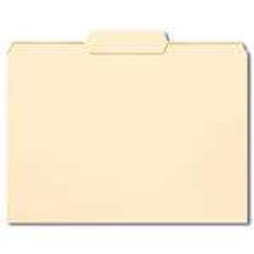 Smead File Folder,1/3-Cut Tab Center Position, Letter Size, Manila, 100 Per Box (10332) - 5 Boxes