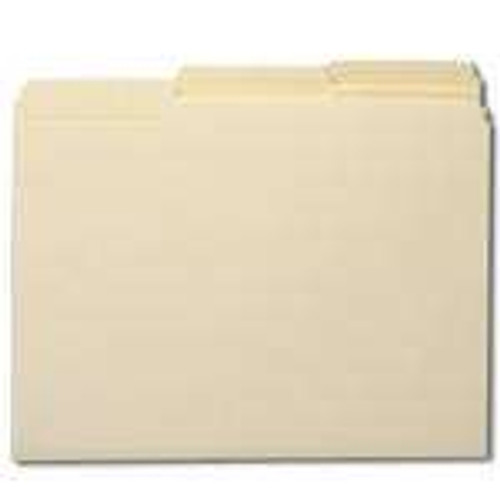 Smead WaterShed/CutLess File Folder, 1/3-Cut Tab, Letter Size, Manila, 100 Per Box (10343) - 5 Boxes