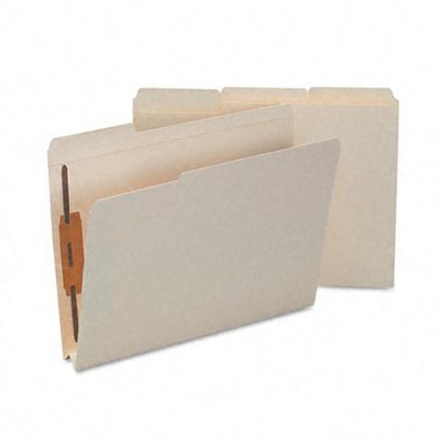 "Smead Fastener File Folder, 2 Fastener, Reinforced 1/3-Cut Tab, 1-1/2"" Expansion, Letter Size, Manila, 50 per Box (14595)"