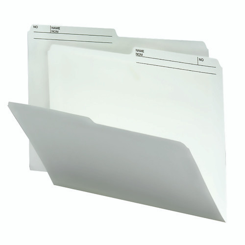Smead Reversible File Folder, 1/2-Cut Printed Right Tab, Letter Size, Ivory 100 per Box (10146)
