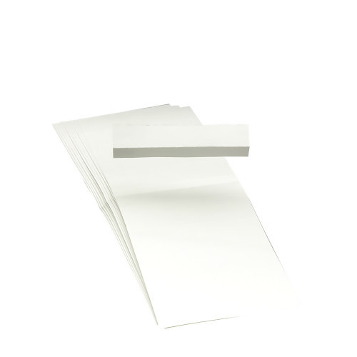 Smead Replacement Insert for Poly Tab, Blank,  1/3-Cut,  3-1/4-Inch Wide, 100 Pack (68670)