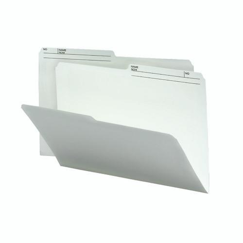 Smead Reversible File Folder, 1/2-Cut Right Printed Tab, Legal Size,  Ivory, 100 per Box (15146)