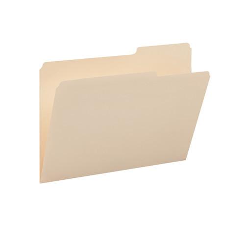 Smead File Folders, 2/5-Cut Tab Right Position, Legal Size, Manila, 100 per Box (15385)