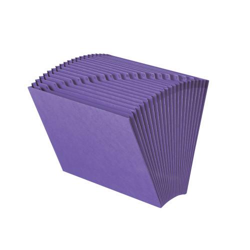 Smead Expanding File, Alphabetic (A-Z), 21 Pockets, Letter Size, Purple (70721)