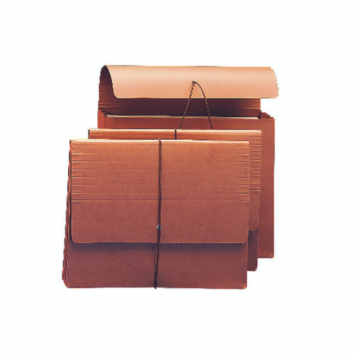 """Smead Wallet, 3-1/2"""" Expansion, Flap and Cord Closure, Letter Size, Redrope, 10 per Box (71105)"""