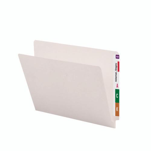 Smead End Tab File Folder, Straight-Cut Tab, Letter Size, Ivory, 100 per Box (24506)