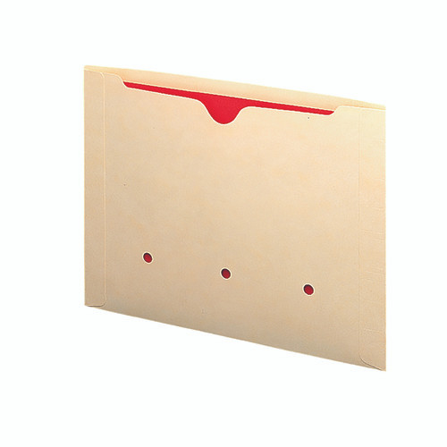 Smead End Tab Dental-Style File Jacket, Reinforced Straight-Cut Tab, Flat-No Expansion, Letter Size, Manila, 50 per Box (76900)