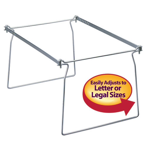 Smead Hanging File Frame, Letter Size, 2 Pack (64872) - 6 Packs
